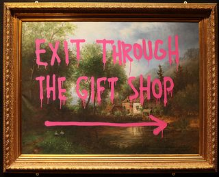Darkplanneur banksy exit through the gift shop