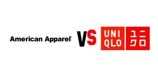 Uniqlo vs AmericanApp