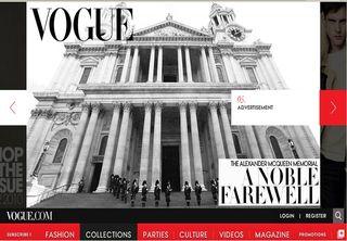 Vogue.com cover