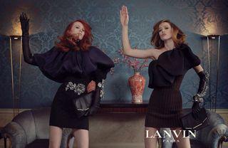 Darkplanneur Lanvin-Fall-2011-Campaign-Meisel-Raquel-Laren-3c