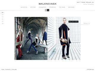 Balenciaga site
